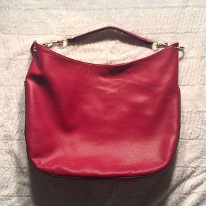 Handbags - Red Hobo bag.